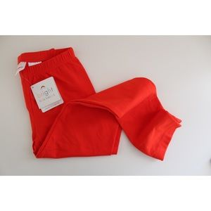 • HANNAH ANDERSSON NWT BRIGHT RED PANTS SZ 8 •